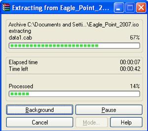 extract ISO Image