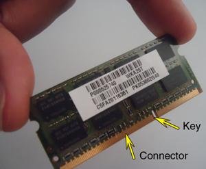 toshiba laptop memory