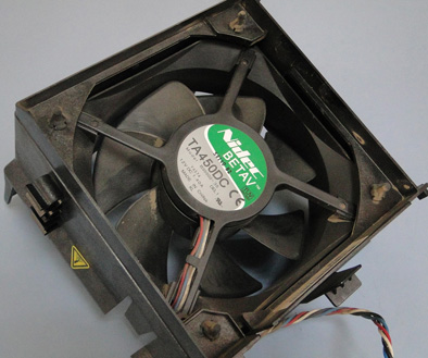 dell620 processor fan